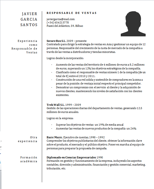 objetivo para curriculum vitae ejemplos    writing research